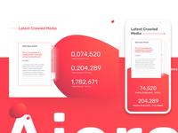 Aiera Launch Website Data Visualization