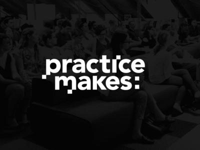 Practice Makes Logo
