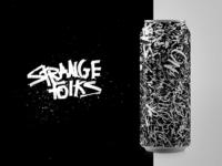 Strange Folks |  Gorillaz Concert Beer Can