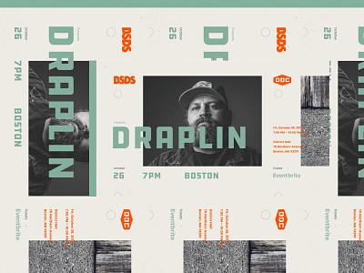 BSDS | Aaron Draplin bay state design shop meetup event branding layout typography ddc aaron draplin bsds