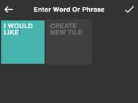 New tile word phrase 1
