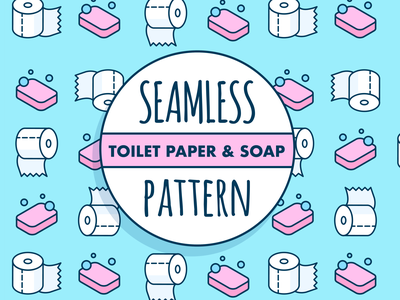 Isometric toilet paper pattern pattern art seamless toilet paper pattern soap toilet paper toiletpaper seamless pattern