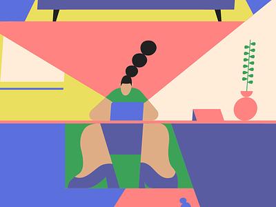 Netflix art animator illustrate mograph vector flat character design storyboard style frame illustrator design illustration motion graphics motion design 2d animation