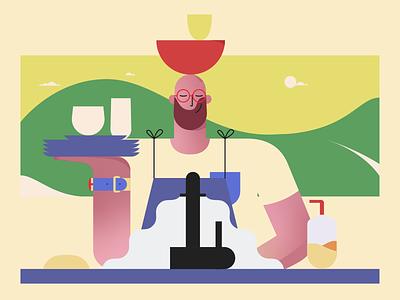 Color Exploration branding art flat vector mograph animator illustrate character design storyboard style frame illustrator design 2d illustration motion graphics motion design animation