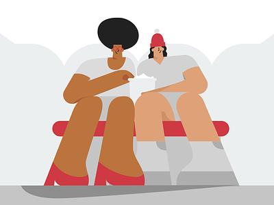 10% Happier flat storyboard animator illustrate style frame motion graphics motion design animation character design illustration 2d illustrator design