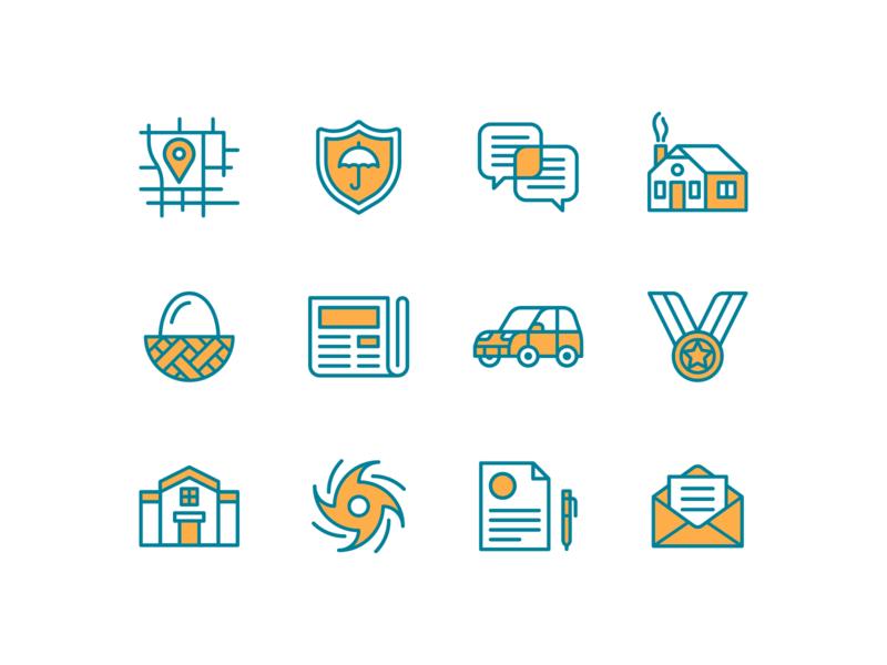CRCU Icons