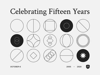 15 Year Malleversary branding design anniversary fifteen 15