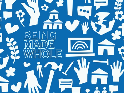 SPD Being Made Whole Brand brand vector branding illustration