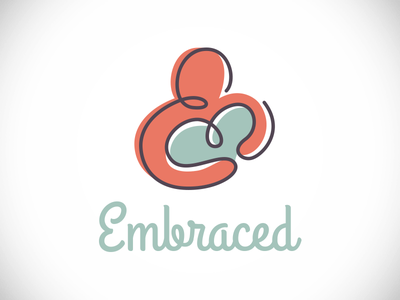 Embraced women womens retreat christian church illustration custom type retreat embraced