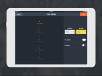 iPad Basketball Game Setup