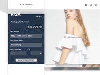 Credit Card Checkout #002 daily UI