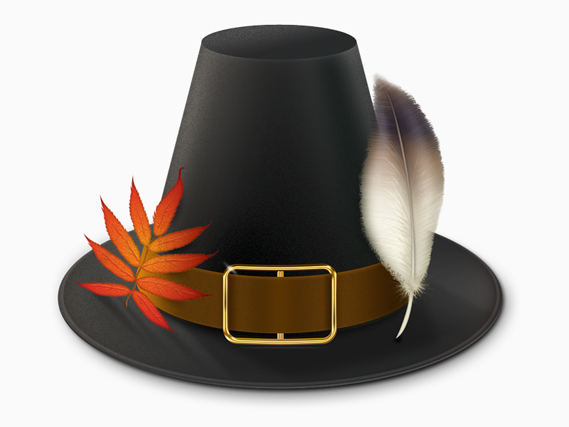 Have a happy Thanks Giving! thanks giving hat feather leaf gold textures