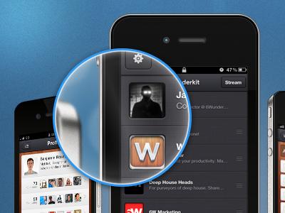 Tiltshift magnifying iphone tilt shift