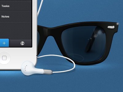 Glasses headphones headheadphones iphone white wayfarer glasses sun nerd