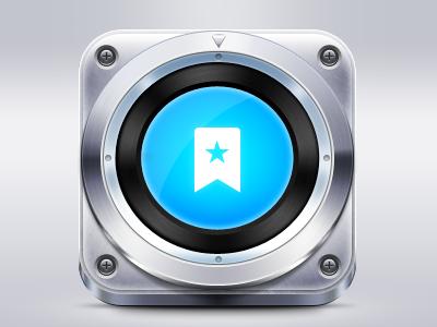 Dashboard dashboard icon metal chrome screw wunderkit