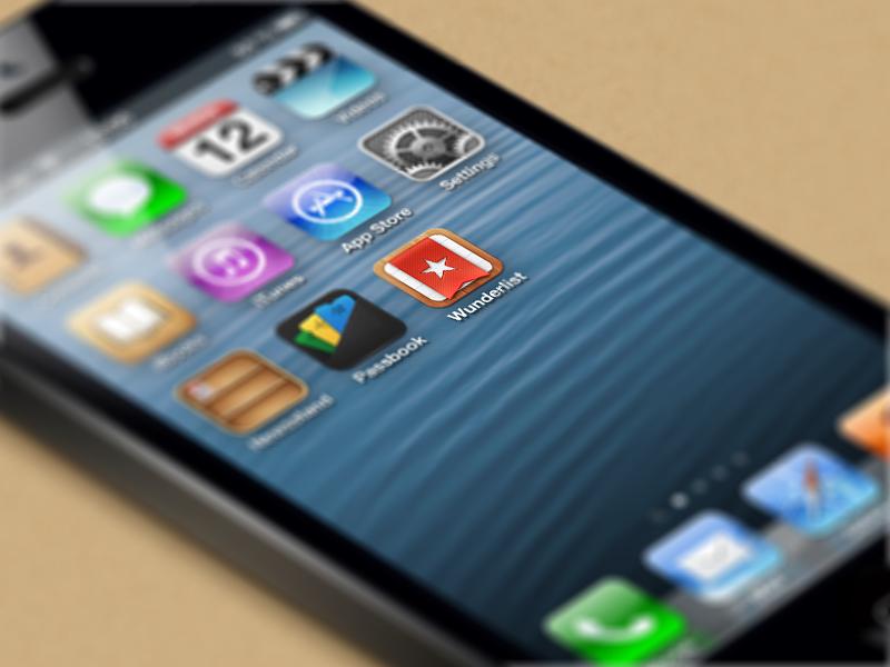 iOS Icon wunderlist 2 mobile icon iphone ios
