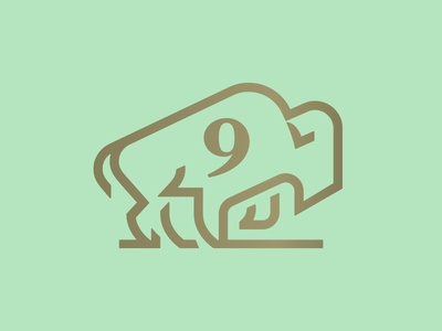 9 power number bison 9 monoline buffalo