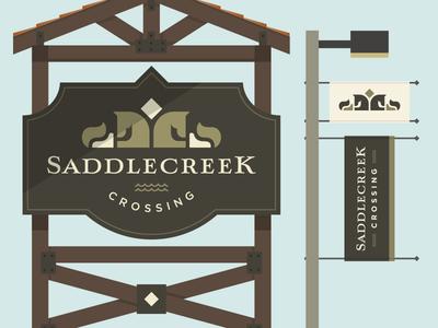 Saddlecreek Signage