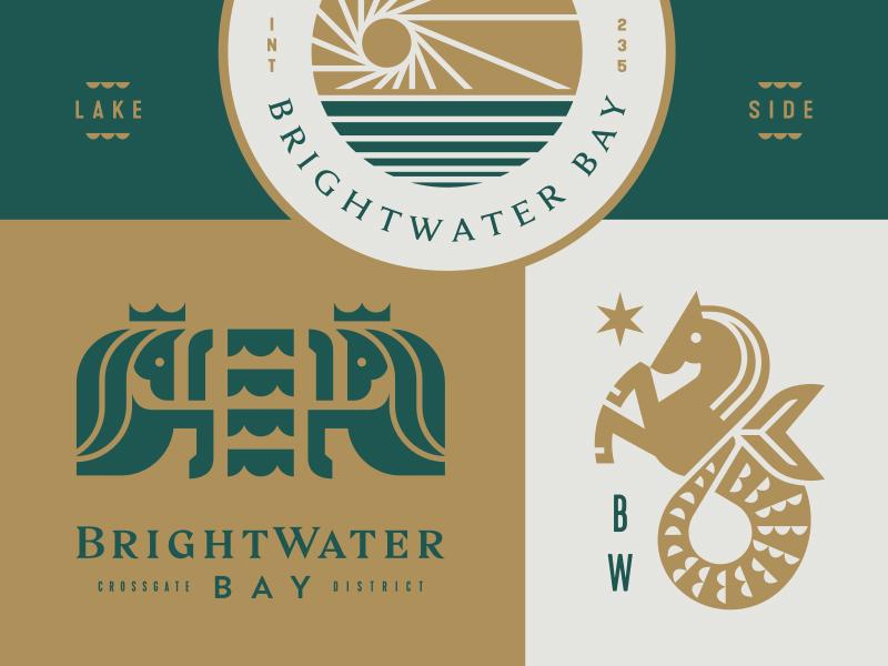 BrightWater Bay beach lake water bay horse seahorse