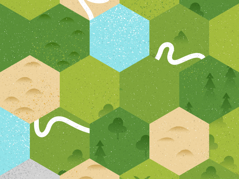 Zoo Map zoo forest desert sea land illustration map