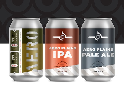 Aero Plains Brewing Cans drink fly air brew can plane beer