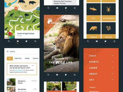 Zoo Mobile Website