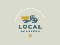 Local logo dribbble