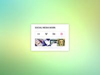 Social Media Work API Widget - Themeisle