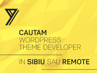 WordPress Theme Developer Wanted!