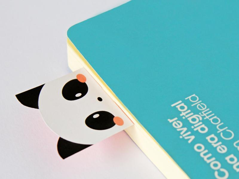 Bookmark Calendar calendar bookmark panda