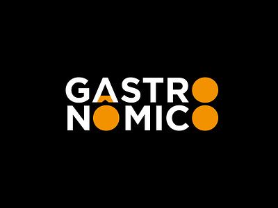 Gastronômico Logotype branding logotype logo food gastronomy school restaurant gastro