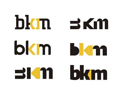 BKM constructions logo graphic design logotype construction logo