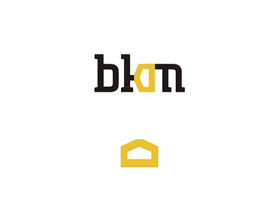 BKM construction logo branding logo logotype construction bkm