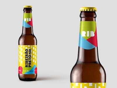 Pilsen Beer Label Design - Ribeirão Preto graphic design package ribeirao preto design pilsen label beer