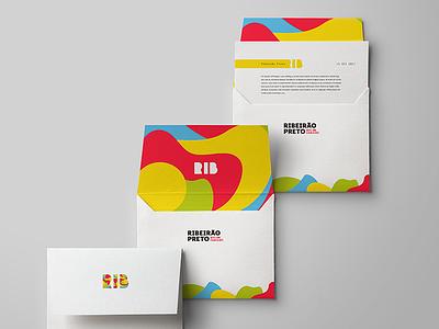 Envelopes - Ribeirão Preto - Visual Identity logotype stationery envelope logo branding id identity