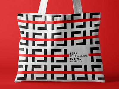 FIL Feira Internacional do Livro - ID pattern package type design identity logotype branding logo