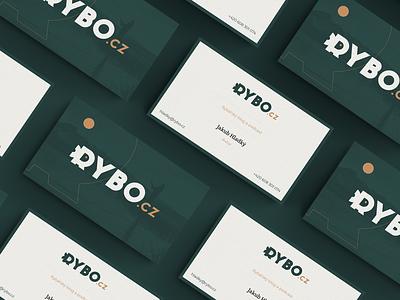 Rybo v.2  business card bussines card podcast logo fish