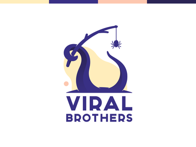 Viral brothers tentacle brothers spider prank octopus viral logo
