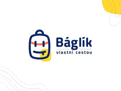 Báglík smile backpack face bag