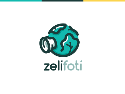 Zelífotí design logodesign logo photo photographer cabbage