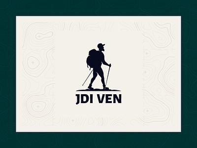 Jdi ven logodesign travel logo outdoor