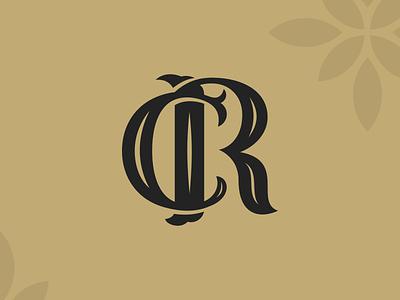 ČR logotype design logo