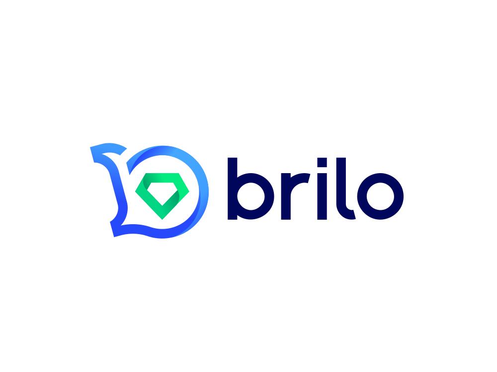 Brilo diamond briliant logo