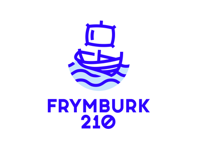Frymburk pillow boat shyp logo