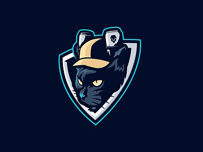 HC Pivní kocouři ( beer tomcat ) design hockey logo tomcat cat beer