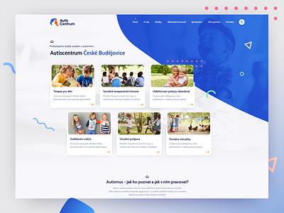 autiscentrum autism webdesign design