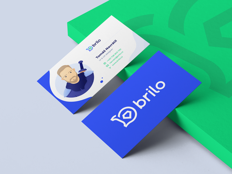 business card design business card branding brilo