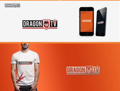 DRAGON TV LOGO