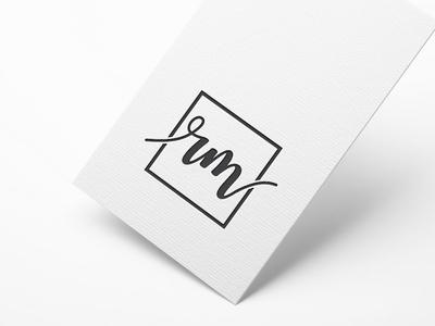 RM LETTER LOGO logos typography illustrator illustration vector logo design company logo branding rm rm logo