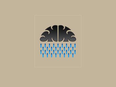 Cloud rain logos typography illustrator illustration vector logo design company logo branding cloud cloud rain cloud rain